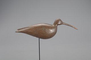 Rare Curlew Decoy, Charles Birch (1867-1956)