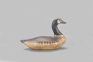 """Canada Goose Decoy, John """"Daddy"""" Holly (1818-1892) or James)"""