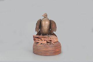 Ruffed Grouse Sculpture,