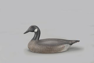 Early Turned-Head Canada Goose Decoy, John Cooper Reeves (1860-1896)