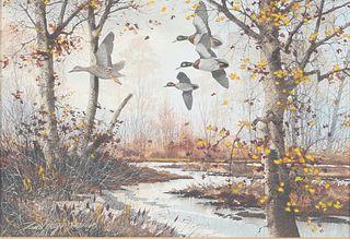 David A. Hagerbaumer (1921-2014), Passing Flock