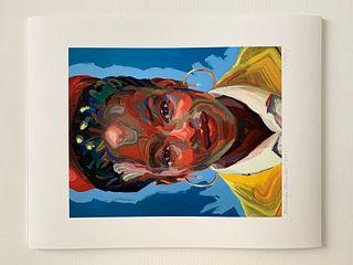 Jo Hay, Amanda Gorman print