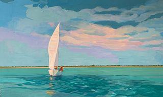 Deborah Fowler Greenwood, Afternoon Sail