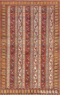 FINE PERSIAN TABRIZ RUG. 5 ft x 3 ft (1.52 m x 0.91 m).
