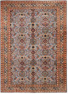 VINTAGE TURKISH CARPET. 10 ft 10 in x 8 ft (3.3m x 2.43m).