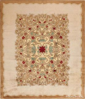 FRENCH ART DECO CARPET. 11 ft 7 in x 9 ft 10 in (3.53 m x 3 m).