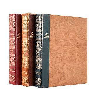 Caso, Alfonso- Smith, Mary Elizabeth. Interpretación del Códice Colombino-Las Glosas.../ Códice Selden.../ Codex Bodley.Pzs: 3.