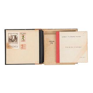 Le Duc de Loubat (Loubat, Joseph Florimond). Codex Fejérvary Mayer. Paris: Philippe Renouard, 1901. Texto y facsimilar en estuche