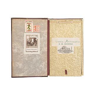 Mapa Jeroglifico del Siglo XVI, Relativo al Establecimiento de la Autoridad Española... México: Librería Anticuaria Echanizm 1914.