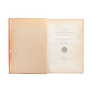 Paso y Troncoso, Francisco del. De Antiquitatibus Novae Hispaniae Authore Francisco Hernando Medico et Historico... México, 1926.