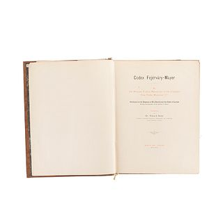 Seler, Eduard. Codex Fejérváry-Mayer. An Old Mexican Picture Manuscript. Berlín - London: T. and A. Constable, 1901 - 1902.