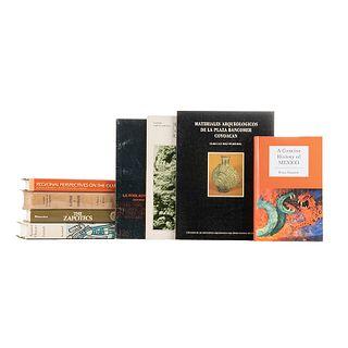 Ancient Oaxaca / The Zapotecs / Huastecos, Totonacos y sus Vecinos / A Concise History of Mexico / Regional Perspectives... Pzas: 8.