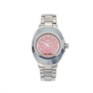 Reloj Rado Diastar en acero REF. 658.0637.3  Movimiento: automático. Con fechador. Tapa rayada.