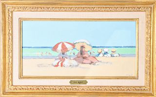 Frederick McDuff (1931-2011) Amer, Oil on Canvas