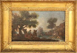 18th/19th C Old Master, European Scene, O/C