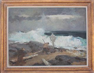 Harry Russell Ballinger(1892-1993)Amer. Oil/Canvas