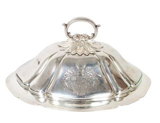 Paul Storr Sterling Silver Entree Dome 27 OZT