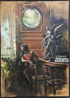 Harry McCormick (b 1942) American, Oil on Canvas