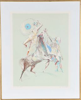 Jon Corbino (1905-1964)  American, Lithograph