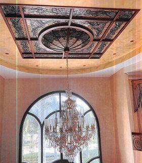 Enormous Opulent Cut Glass Chandelier