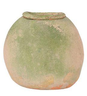 Frank Colson (20th C) Raku Ware Style Vase