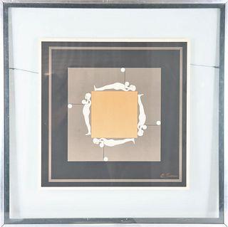 Ernest Tino Trova (1927 - 2009) Serigraph/Print