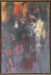Elden Heart Rowland (1915-1982) Amer, Oil/Canvas