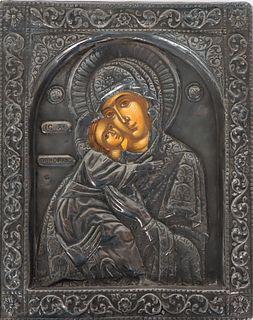Russian Icon Madonna & Child