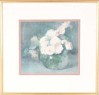 Myra B. Spafard (1864-1940) American, Watercolor