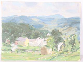 Jay Hall Connaway (1893-1970) American, Oil/Board