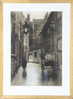 Francis Hopkinson Smith (1838 - 1915) Charcoal