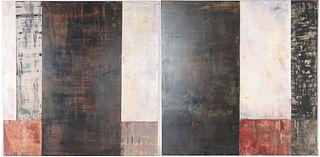 Pair of Barbara Bouman Jay Paintings