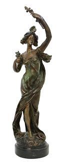 After Emile Bruchon (1800-1895) Bronze Sculpture