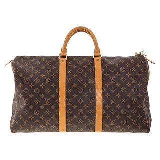 A Louis Vuitton Monogram Keepall 50