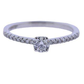 Kallati White Gold Diamond Engagements Ring