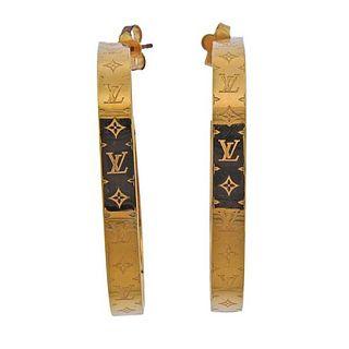 Louis Vuitton Large Hoop Earrings
