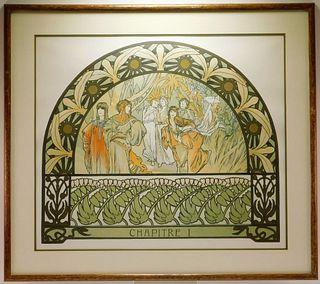 Alphonse Mucha Arabian Nights Lithograph