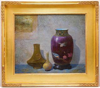 Ernest Albert Impressionist Still Life Painting