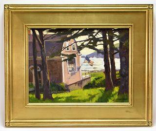 Caleb Stone Impressionist Landscape Painting