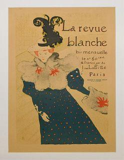 Toulouse-Lautrec La Revue Blanche Lithograph