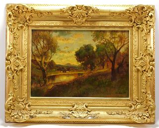 William Keith Impressionist Landscape Painting