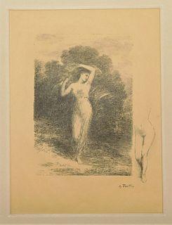 Henri Fantin-Latour Les Bucoliques Lithograph