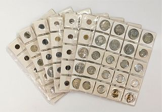 133 German Silver Alloy & Other German Coin Group