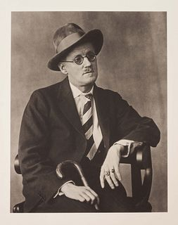 Berenice Abbott (American, 1898-1991) James Joyce, 1928 (printed later)