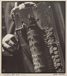 John Albok (American, 1896-1982) Machine For Ever, 1932