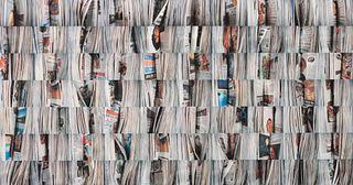 Barbara Astman (Canadian, b. 1950) The Newspaper Series, Blackabby , 2006