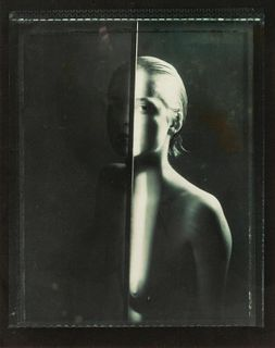 Pavel Banka (Czech, b. 1941) A group of four photographs (Portrait with Metal Bar, 1984; Nude with Metal Arch, 1985; Touching, 1986; Untitled, 1985)