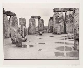 Paul Caponigro (American, b. 1932) Untitled (Stonehenge), 1967-1972
