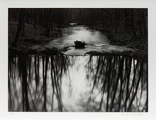 Paul Caponigro (American, b. 1932) Reflection Stream, Redding, 1968 (printed later)