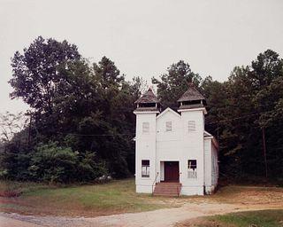 William Christenberry (American, b. 1936) Church Sprott, Alabama, 1981 (printed 1985)